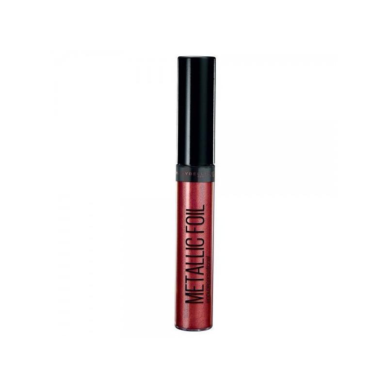 GEMEY MAYBELLINE - Rouge à Lèvres Liquide METALLIC FOIL - 100 Psychic
