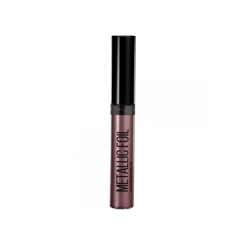 GEMEY MAYBELLINE - Rouge à Lèvres Liquide METALLIC FOIL - 120 Nemesis