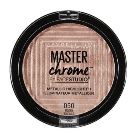 Maybelline New York - Poudre Enlumineur Métallique MASTER CHROME - 50 Molten Rose Gold