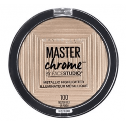 Maybelline New York - Poudre Enlumineur Métallique MASTER CHROME - 100 Molten Gold