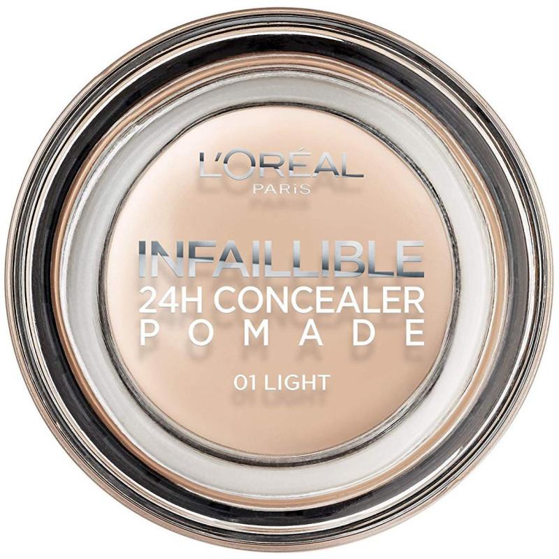 L'ORÉAL - Correcteur 24H Concealer Pomade INFALLIBLEL - 01 Light