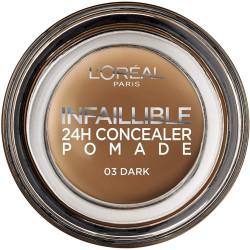 L'ORÉAL - Correcteur 24H Concealer Pomade INFALLIBLE - 03 Dark
