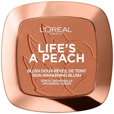 L'ORÉAL - Blush Doux Réveil De Teint LIFE'S A PEACH - 01 Peach Addict