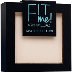 GEMEY MAYBELLINE - Poudre ton sur ton matifiante FIT ME MATTE & PORELESS - 100 Warm Ivory