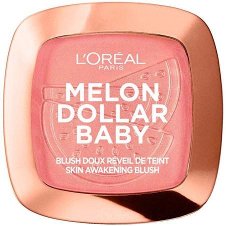 L'ORÉAL - Blush Doux Réveil De Teint MELON DOLLAR BABY - 03 Water Melon