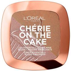 L'ORÉAL - Blush & Poudre Bronzante CHÉRIE ON THE CAKE - 01 Cherry Fever