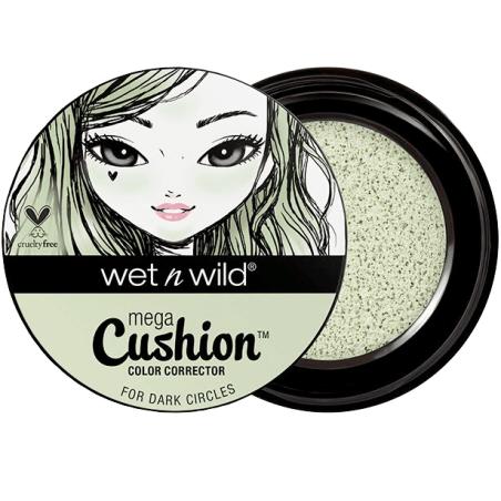 Wet N Wild - Correcteur De Couleur MEGA CUSHION  - Green 764B