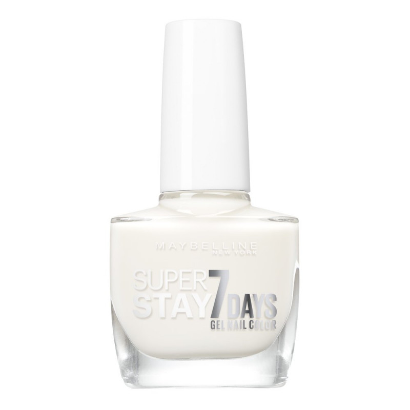 GEMEY MAYBELLINE - Vernis SUPERSTAY - 71 Blanc Pur