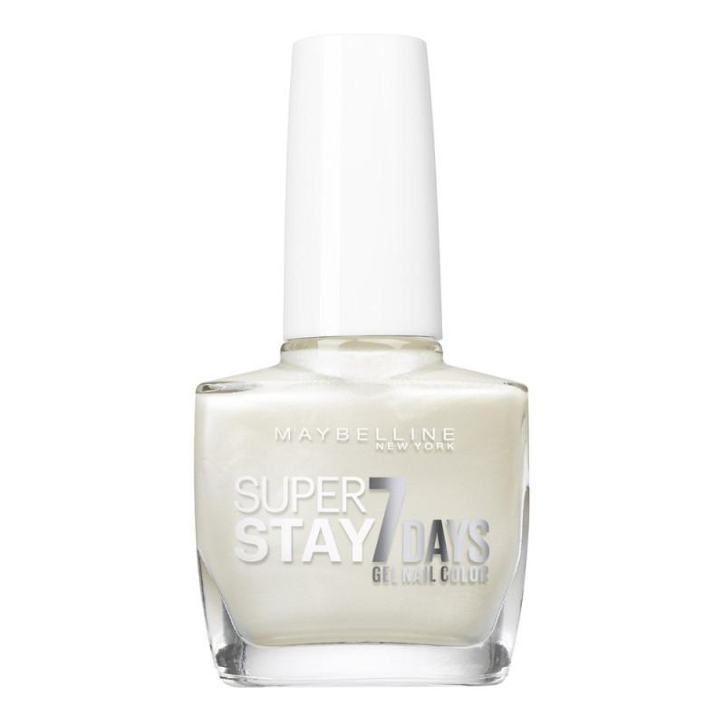GEMEY MAYBELLINE - Vernis SUPERSTAY - 77 Blanc Nacré