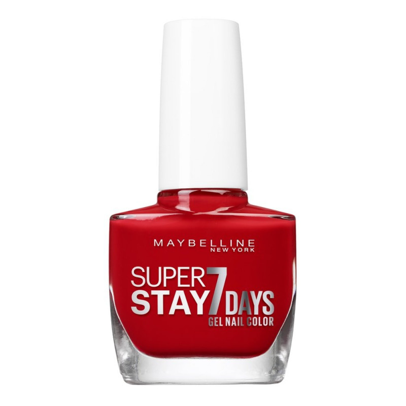 GEMEY MAYBELLINE - Vernis SUPERSTAY - 08 Rouge Passion