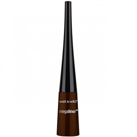 Wet N Wild - Eye-Liner Liquide MEGALINER - Dark Brown