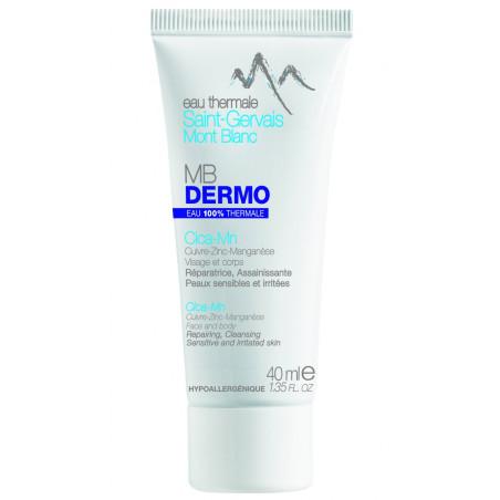 SAINT-GERVAIS MONT BLANC - Crème réparatrice MB DERMO Cica-Mn - 40ml