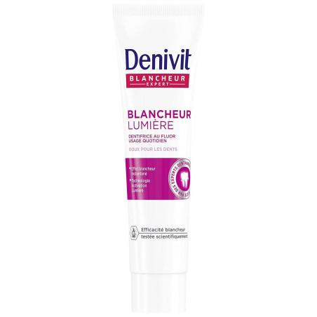 DENIVIT - Dentifrice Blancheur Lumière - Tube 50 ml