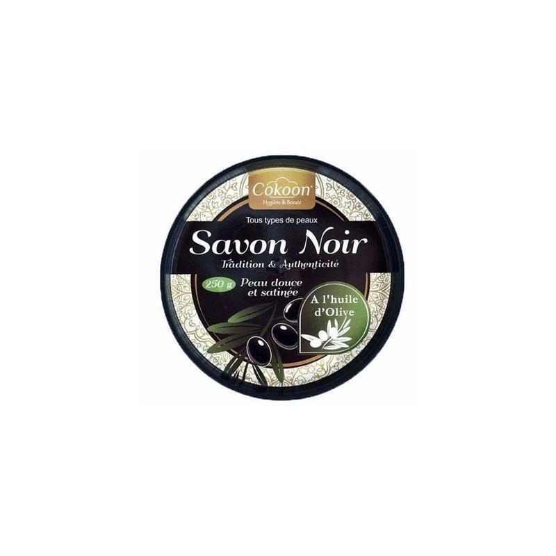COKOON - Savon Noir - À L'Huile D'Olive