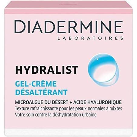 DIADERMINE - Gel-Crème Désaltérant HYDRALIST