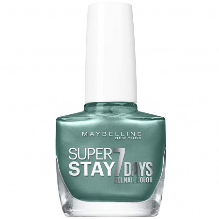 Maybelline New York - Vernis SUPERSTAY 7 DAYS - 915 Turquoise & Tango
