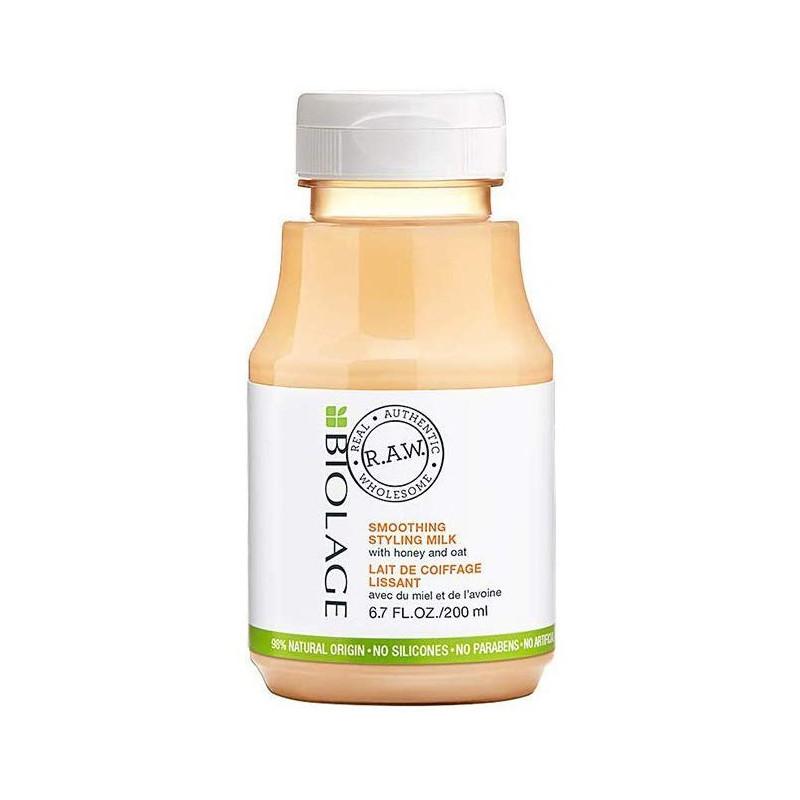 MATRIX - BIOLAGE RAW Lait De Coiffage Lissant - 200 ml