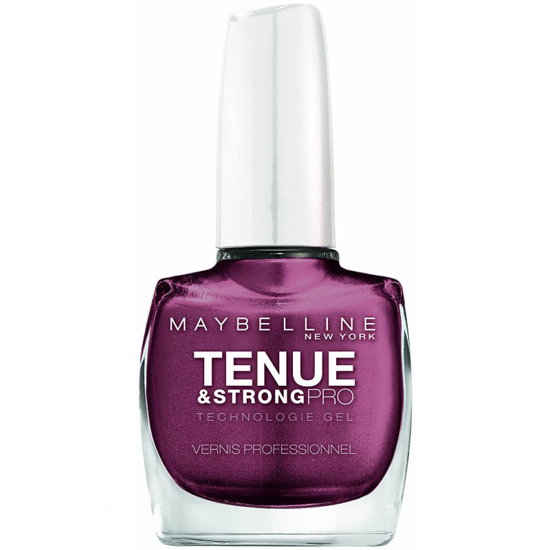 GEMEY MAYBELLINE - Vernis TENUE & STRONG PRO - 255 Mauve On