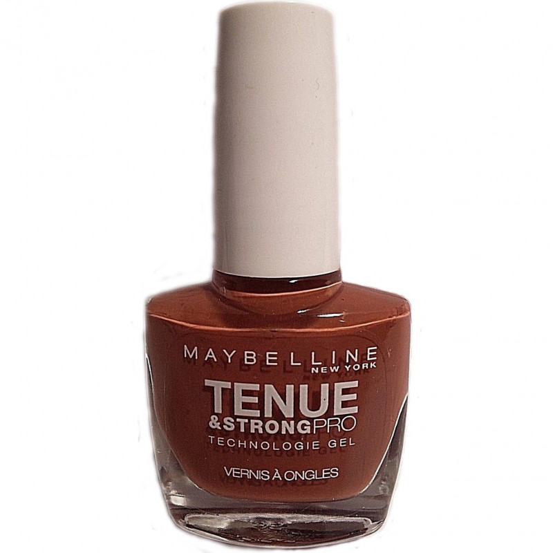 GEMEY MAYBELLINE - Vernis TENUE & STRONG PRO - 899 Fighter