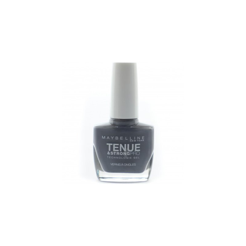 GEMEY MAYBELLINE - Vernis TENUE & STRONG PRO - 909 Urban Steel