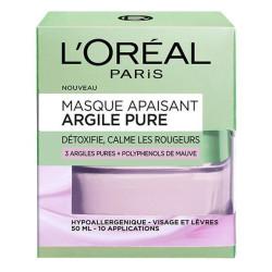 L'Oréal Paris - Masque Apaisant - Argile Pure