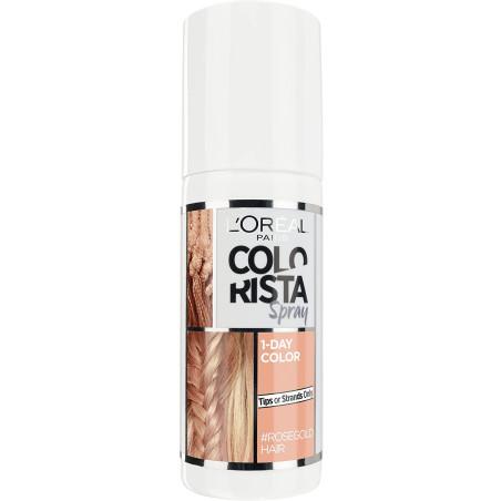 L'Oréal Paris - Spray COLORISTA Couleur 1 Jour Pastel - Rosegold Hair