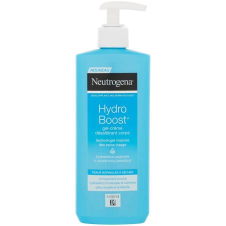 Neutrogena - Gel-Crème Corps Hydratant & Désaltérant HYDRO BOOST - Peaux Normales Sèches