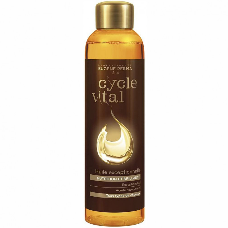 Eugène Perma - Huile Exceptionnelle Nutrition Et Brillance CYCLE VITAL - 150ml