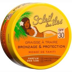 Soleil Des Îles - Graisse à Traire Bronzage Et Protection - SPF 30 150ml