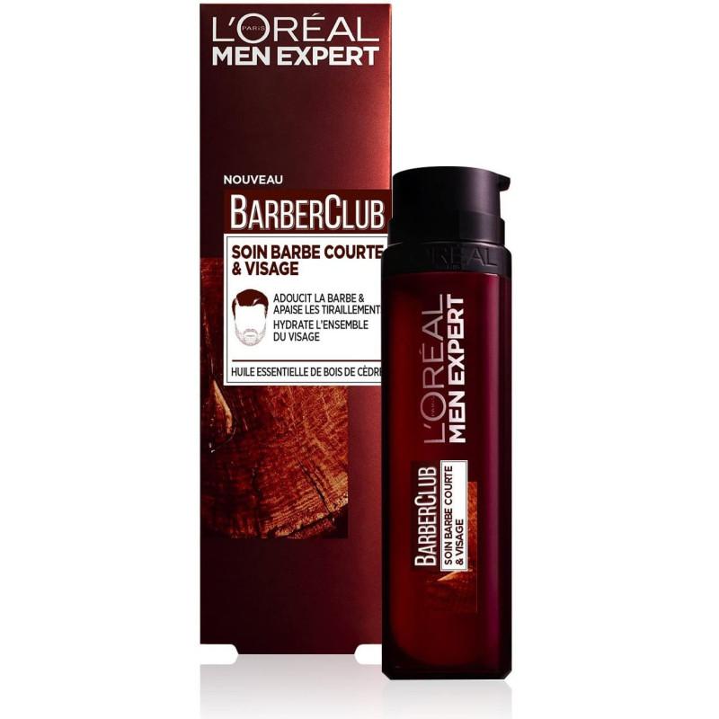 L'Oréal Paris - Soin Barbe Courte et Visage BarberClub MEN EXPERT - 50ML
