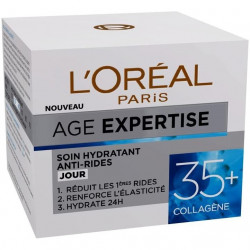 L'Oréal Paris - Soin de Jour Hydratant Anti-Rides AGES EXPERTISES - 35+ Collagène 50ML