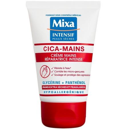 Mixa - Crème Mains Réparatrice Intense CICA-MAINS - Peaux Sèches 50ML