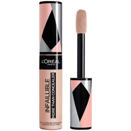 L'Oréal Paris - More Than Concealer Correcteur et Fond de Teint 2 En 1 INFALLIBLE - 323 Chamois 11ml