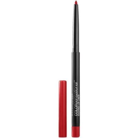 Maybelline New York - Crayon Contour Des Lèvres Sculptant COLOR SENSATIONAL - 80 Red Escapade