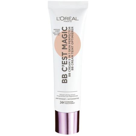 L'Oréal Paris - BB Crème Perfecteur de Teint 5 en 1 BB C'est Magic - Médium Clair