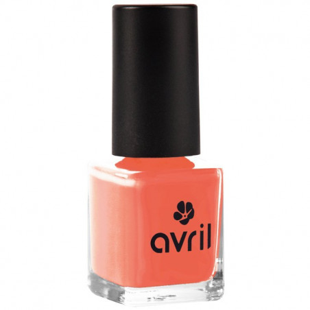 Avril - Vernis à Ongles 7 ml - N° 02 Corail