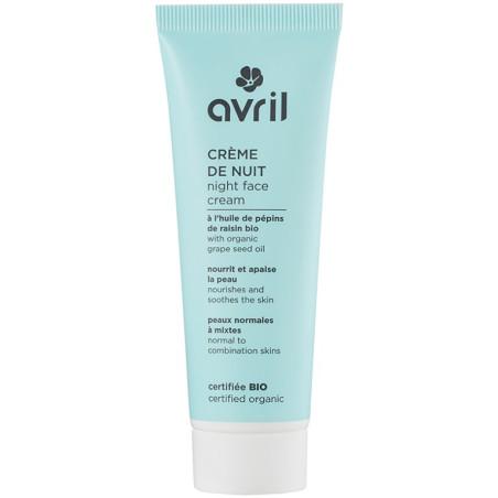 Avril - Crème De Nuit 50ml - Peaux Normales & Mixtes
