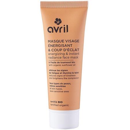 Avril - Masque Visage Énergisant & Coup D'Éclat Certifié Bio - 50ml