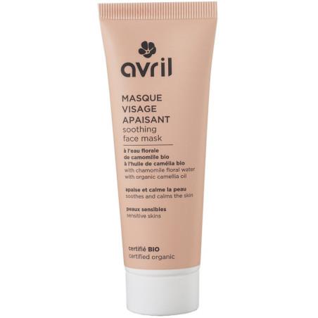 Avril - Masque Visage Apaisant Certifié Bio - 50ml