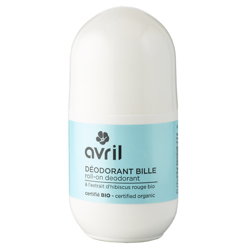 Avril - Déodorant Bille 50Ml - Certifié Bio