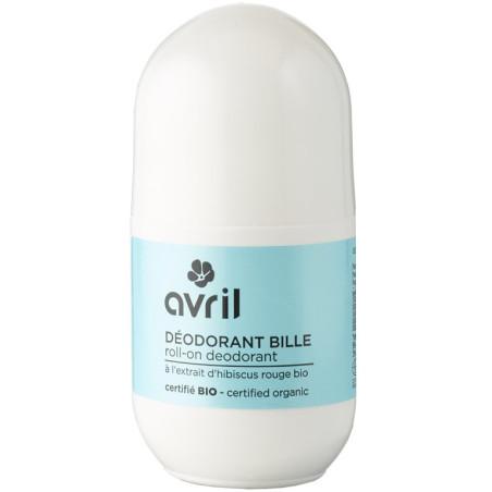 Avril - Déodorant Bille 50Ml - Certifié Bio