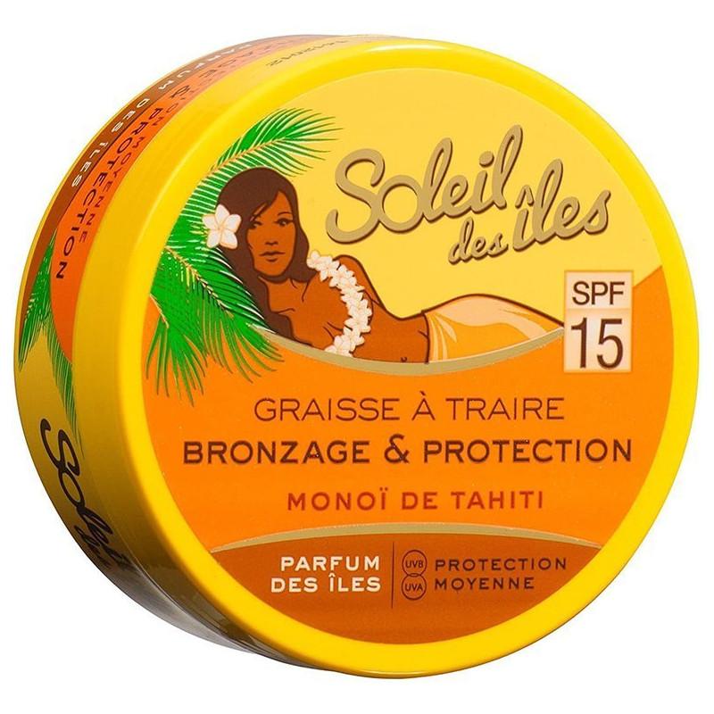 Soleil Des Îles - Graisse à traire SPF 15 - 150 ml