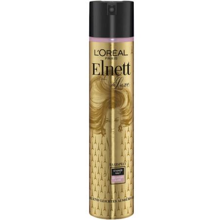 L'Oréal Paris - Laque Elnett Fixation Forte DE LUXE 250Ml - Cheveux Brillant Luxueux