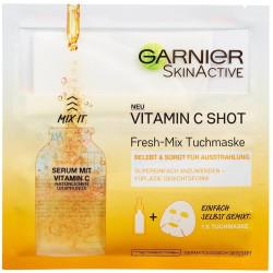 Garnier - Masque En Tissu Hydra Bomb Vitamin C Shot Fresh-Mix - Tonifie Et Donne De L'Éclat