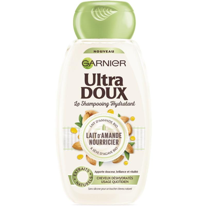 Garnier - Shampooing Hydratant Au Lait D'Amande Nourricier