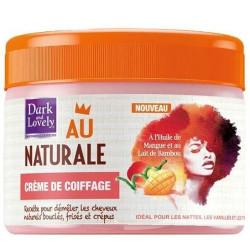 Dark And Lovely - Crème De Coiffage Au Naturale 250Ml - Cheveux Crépus Ou Frisés