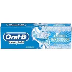 Oral-B - Dentifrice + Bain de Bouche 75Ml Fraîcheur Longue Durée - Menthe Fraîche