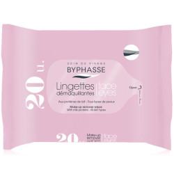 ByPhasse - Lingettes Démaquillantes Aux Protéines de Lait - Tous Types de Peaux 20u