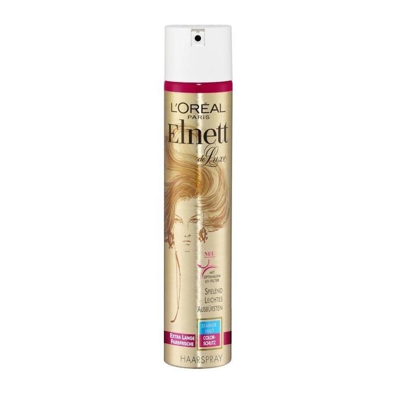 L'Oréal Paris - Laque Elnett Nutrition Fixation Forte De Luxe 250Ml - Cheveux Colorés