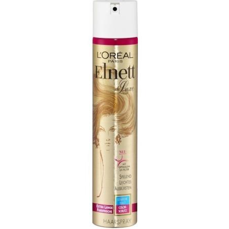 L'Oréal Paris - Laque Elnett Fixation Forte DE LUXE 250Ml - Cheveux Colorés